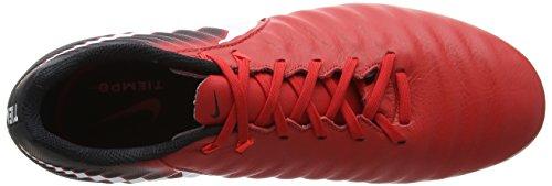 Blanc Université Rouge Noir de Homme FG Rouge Ligera 616 Cramoisi Brillant Iv NIKE Chaussures Football Tiempo qF6Rv6