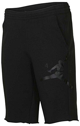 (NIKE Jordan Men's Retro 11 Legacy Casual Shorts-Black-Large)
