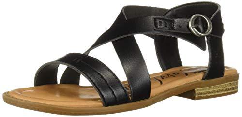 Blowfish Women's Wunder Sandal, Black Dyecut, 7 Medium US