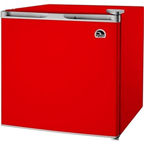 Igloo 1 6 Cu Ft Refrigerator RED Hot New Color
