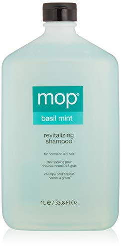 (MOP Revitalizing Shampoo, Basil Mint, 33.8 Fl Oz)
