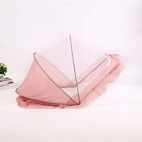 YQ/&TL Baby Bed Mosquito Net Child Foldable Newborn bb Mosquito Cover Child Yurt Bottomless Universal Portable Ttravel Camping Outdoor Home Blue