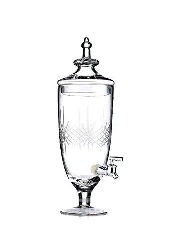 Jamestown Cut Glass Beverage Dispenser 108 ()