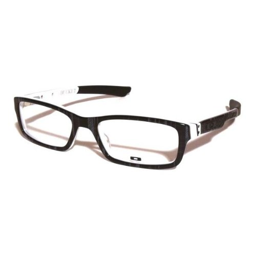 Amazon.com: Oakley Bucket OX1060-0651 Eyeglasses [Black Plaid Color ...
