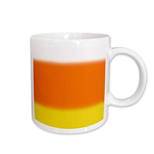 - 3dRose BlakCircleGirl - Design - Candy Corn Ombre - Fun ombre in Halloween candy corn colors - 15oz Two-Tone Black Mug (mug_286959_9)