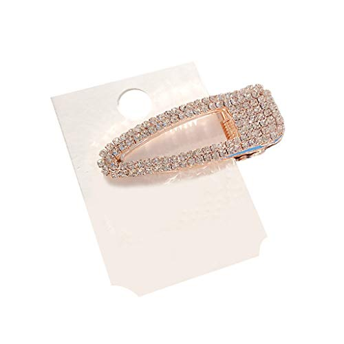 Women Pearl Diamond Hair Clip Bobby Pin Hairband Hairpin Barrette Comb Accessory