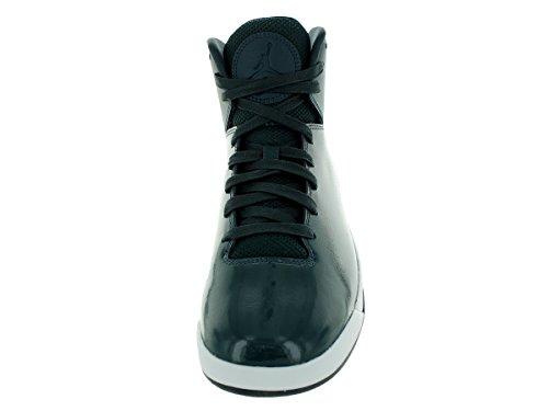 Jordan Nike Herren Air Imminent Basketballschuh Holzkohle / Schwarz / Weiß