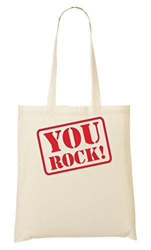 You Rock! Bolso De Mano Bolsa De La Compra