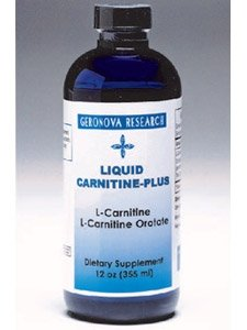Geronova Research Liquid Carnitine Plus 12 oz