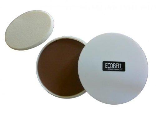 Ecobell Topical Shader 5 G CASTANO MOYEN Mascara Capillare maschera calvizie, cicatrici, capelli bianco