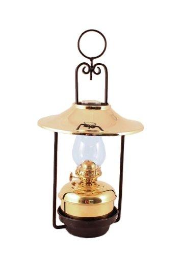 brass kerosene lamp - 6
