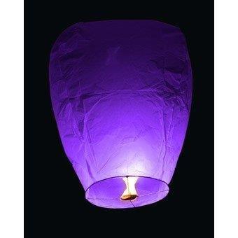 Lanterne Volanti 10 pz Viola Sky Lantern Kawin