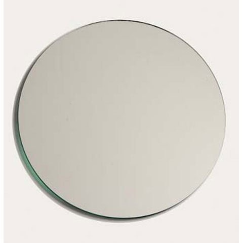 Better Crafts Round Glass Mirror