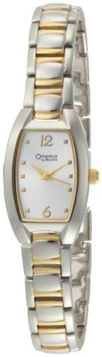 Caravelle by Bulova Women's 45L116 Silver White Dial Bracelet Watch
