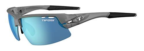 (Tifosi Optics Crit Polarized Sunglasses Matte Smoke/Enliven Off-Shore Polarized, One Size)