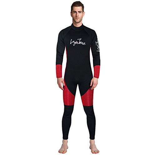 Men Wetsuit 3MM Full Body Suit Super Stretch Diving Suit Swim Surf Snorkeling