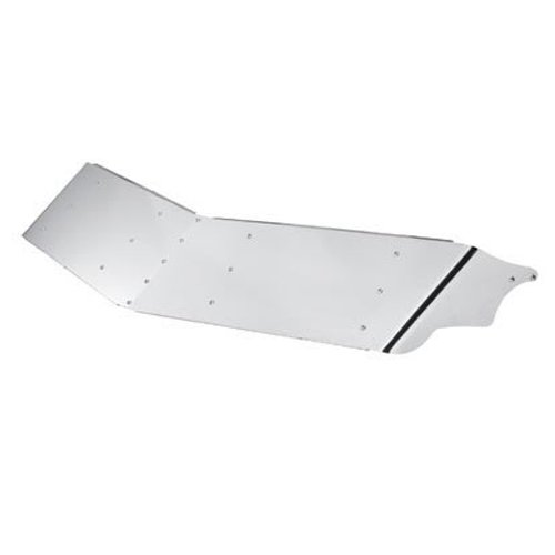 14'' Stainless Steel Peterbilt Drop Visor - Ultra Cabs 377, 378 and 379
