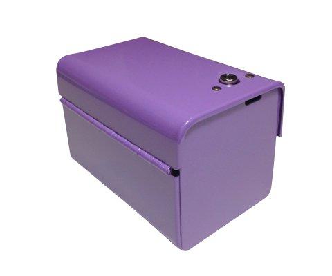 SD2012RLV-10 Sanitary Napkin Tampon Disposal Bag Dispenser - Roll Format, Lavender - 10 Units