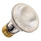 (15 Pack) 50-Watt PAR20 Flood Halogen Reflector 120V Light Bulbs, 50PAR20/FL ...