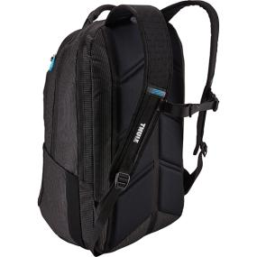 Side mesh pockets of the Thule Crossover TCBP-417 32L 17 Inch MacBook + iPad Backpack