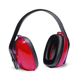 Radnor Red and Black Multi-Position Earmuffs (12 Pack)