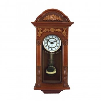 bedford clock collection 27 5 antique chiming wall clock with roman