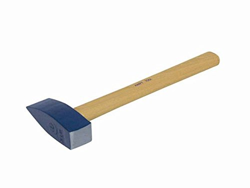 Kraft Tool BL333 3-pound Stone Masons Hammer with 16-Inch Handle