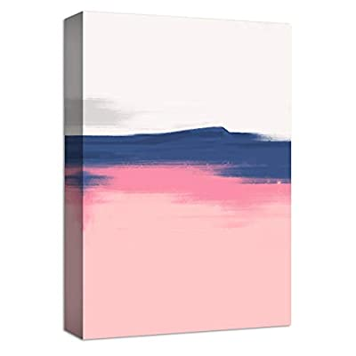 Canvas Wall Art Beautiful Abstract Painting Artwork for Home Prints Framed - 12x18 inches