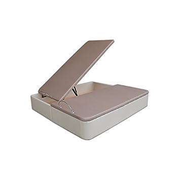 Ventadecolchones - Canapé Modelo Serena Gran Capacidad tapizado en Polipiel Crudo Medidas 200 x 200 cm (2 und 100 x 200): Amazon.es: Juguetes y juegos