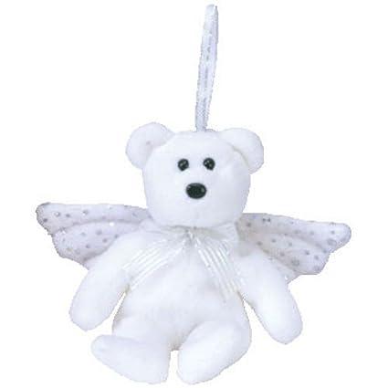 Amazon.com  TY Jingle Beanie Baby - HERALD the Angel Bear (5 inch ... 82ea6992902