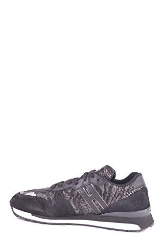 Hogan Vrouwen Mcbi148364o Zwart Suède Sneakers