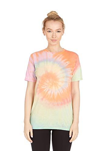 Krazy Tees Tie Dye T-Shirt, Festival Pastel, X-Large