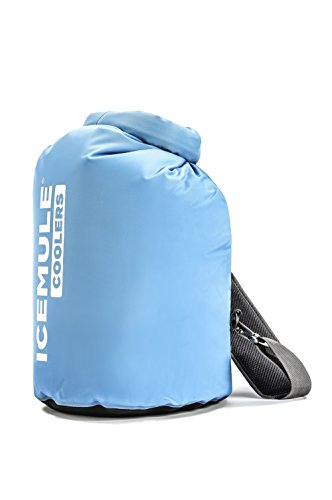 ICEMULE Classic Insulated Backpack Cooler Bag - Hands-free, Highly-Portable, Collapsible, Waterproof & Soft-Sided Cooler Backpack for Hiking, the Beach, Picnics, Camping, Fishing - 20 Liters, 18 can