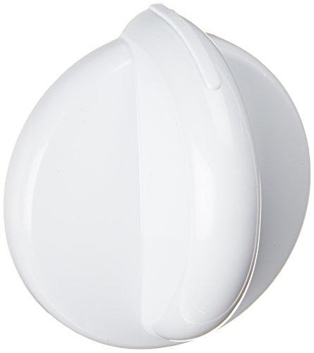 White Burner Knob - General Electric WB03K10143 Knob Top Burners, White