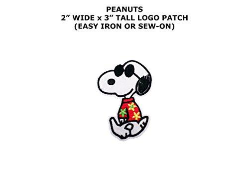 Cartoon Peanuts Snoopy Joe Cool Iron or Sew-on Patch