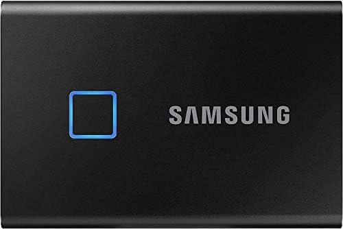 سامسونج Mu Pc1t0k Ww Portable Ssd T7 Touch Usb 3 2 مع خاصية بصمة الأصابع وكلمة السر 1 تيرابايت أسود Amazon Ae