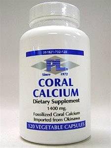 Le calcium de corail 120 VegiCaps