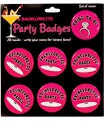 Bachelorette Badges Set Of 7