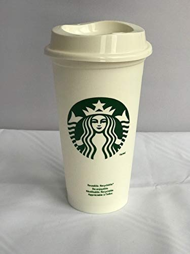 Starbucks Reusable Travel Cup To Go Coffee Cup (Grande 16 Oz) -