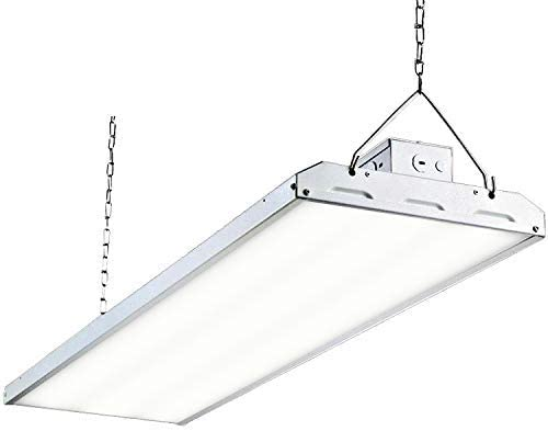 Hykolity 2FT LED Linear High Bay Industrial Warehouse Light Dimmable 110W 5000K
