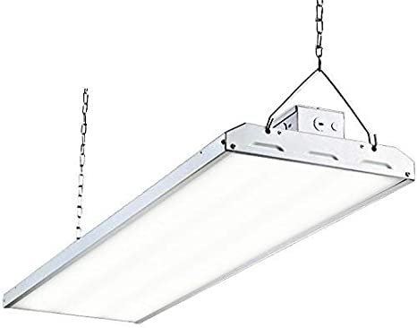 2 PACK T8 LED High Bay Warehouse Shop Commercial Light Fixture USA MADE Bright