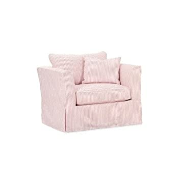 Pleasing Amazon Com Rowe Furniture H23X Darby Slipcovered Chair And Caraccident5 Cool Chair Designs And Ideas Caraccident5Info