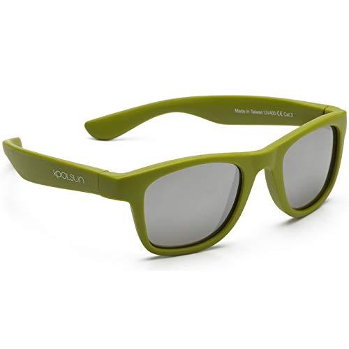 KOOLSUN Kinder Sonnenbrille 1-5 Jahre 1+ Wave army green