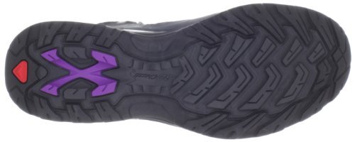 Purple High Rise Hiking Salomon Boots Comet Asphalt Grey Women's Pewter Anemone GTX 3D g1TH7q