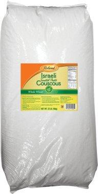 Roland: Whole Wheat Israeli Couscous 22 Lb by Roland