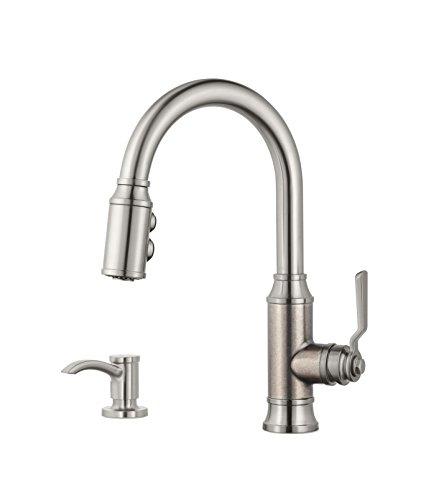 kitchen faucet pewter - 5