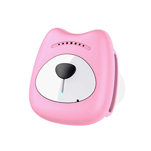 Xch Wireless Cat Kitten Pet Tracking Device, More Accurate Than GPS,Pink