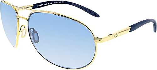 Costa Del Mar Wingman Sunglasses, Gold, Gray 580P - Sunglasses Wing