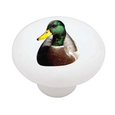 Mallard Duck Ceramic Drawer Knob