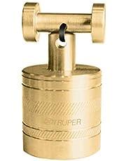 TRUPER PLOM-3L Brass Plumb Bobs w/Center 12.4 Oz (352 g)